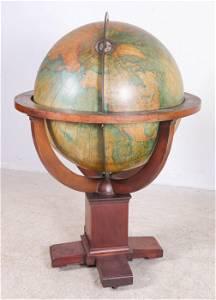 30 inch Terrestrial Globe, W. & A.K. Johnston