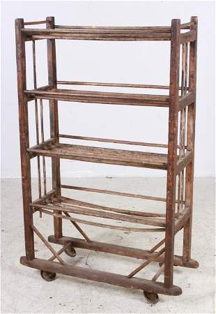 Primitive Rolling Drying Rack