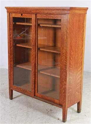 Oak Arts & Crafts Bookcase