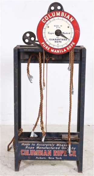 Steel Columbian Pure Manila Rope Measure