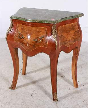 Louis XVI style bombe lamp table
