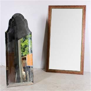 (2) Decorative mirrors