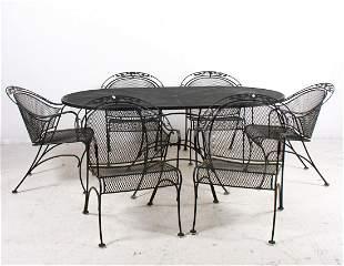 (7) pc Salterini style patio set