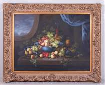 Large Reproduction Still Life Painting