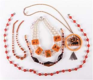 (5) Pc Vintage Jewelry Lot