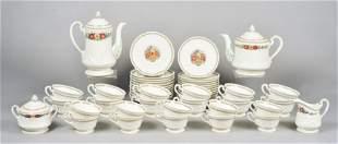 (50) Pcs Wedgwood Patrician 'Windermere' Tea Set