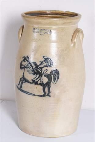 3-Gallon Diebboll Stoneware Crock