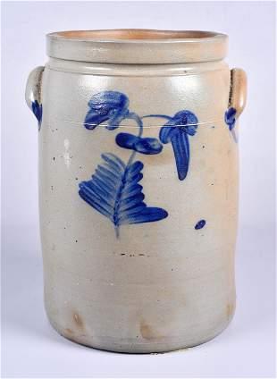 Unsigned Stoneware Crock