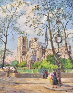 Therese Darche Notre Dame Painting