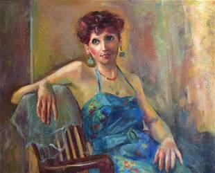 Rhoda Shapiro Portrait of a Lady