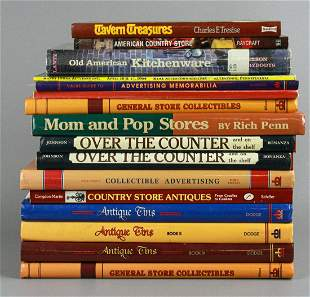 (15) Books on Advertising & Kitchenwares