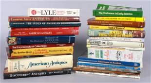 (25+) Books on Antiques
