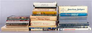 (40+) Books on American Antiques