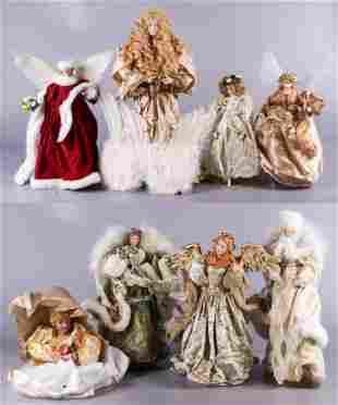 (8) Christmas Angel Figures