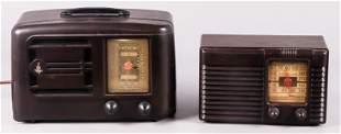 (2) Vintage Tube Radios