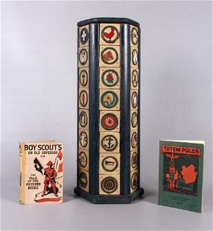 (3) Vintage Boy Scout Items