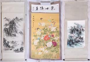 (3) Chinese Scrolls