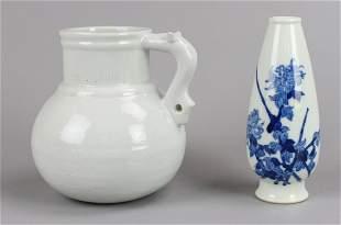 (2) Pcs Chinese Porcelain