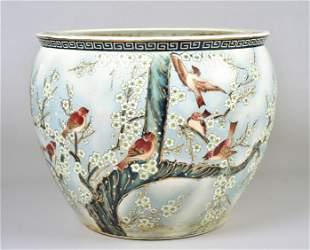 Chinese Porcelain Cache Pot
