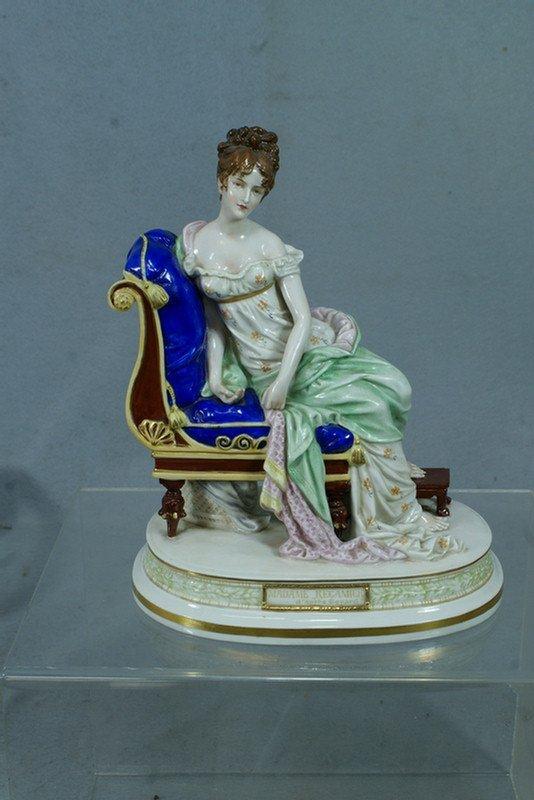 280: Scheibe Thuringia porcelain figurine, Madame Recam