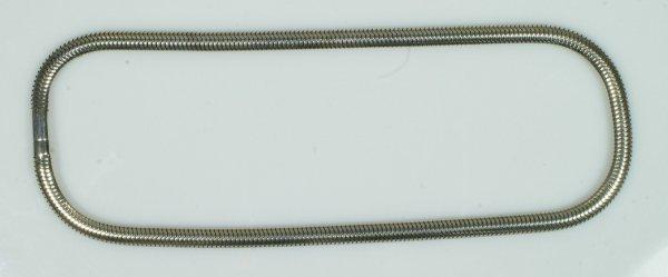 9: Heavy 14K WG necklace, 25.6 dwt