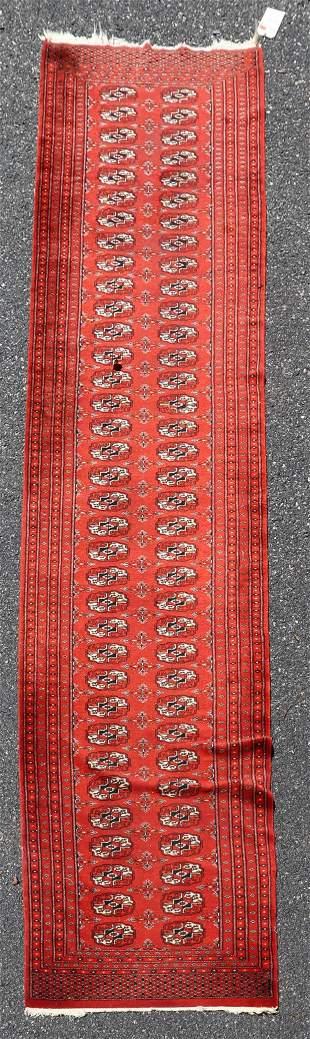 """2'7"""" X 11'3"""" Antique Persian Caucasian Kazak Rug"""