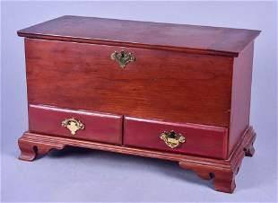 Reproduction miniature blanket chest