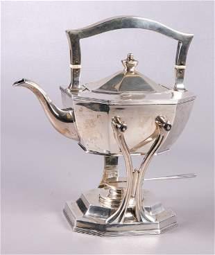 Black Starr & Frost Sterling Tea Kettle, 42.255 TO