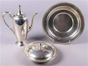 (3) Pcs Sterling Silver, 29.275 TO