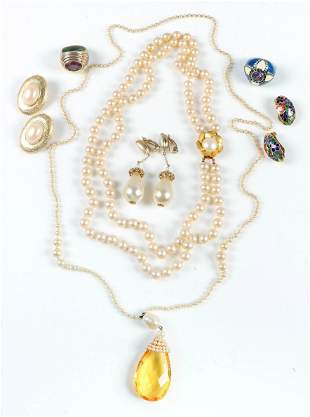 Fashion Pearl and Other Jewelry Lot