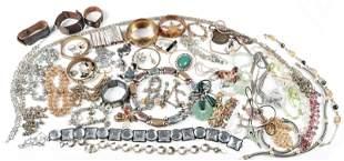 Lot of Fashion Costume Jewelry