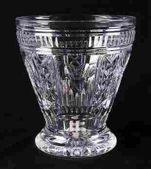 "Waterford Cut Crystal ""Millennium"" Ice Bucket"