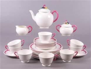 (27) Pc Crown Staffordshire Tea Service