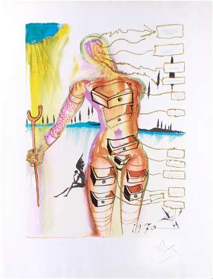 "Salvador Dali ""Venus with Drawers"""