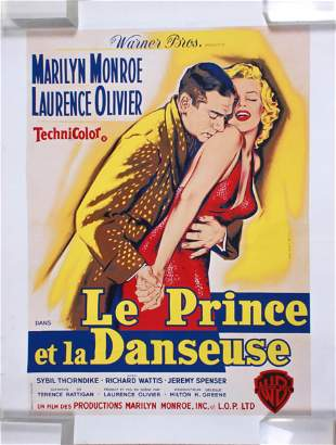 1959 Marilyn Monroe French Movie Poster