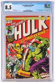 CGC 8.5 Incredible Hulk No 181, First Wolverine