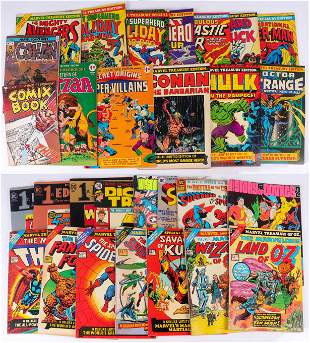 (29) Large Commemorative Comics