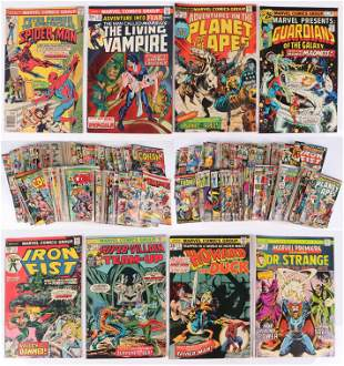 (200)+ Marvel Silver and Bronze Age Comics
