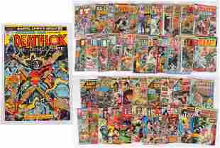Giant Size and Regular Edition Bronze Age Marvel Comics