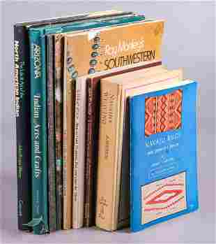 (9) Books on Native American Crafts
