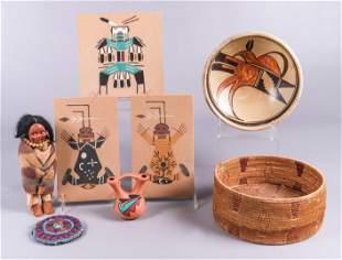 (8) Native American Items