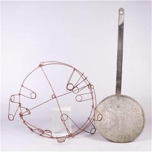 (2) Metal items