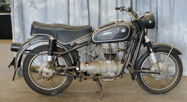 101: 1965 BMW R27 250cc