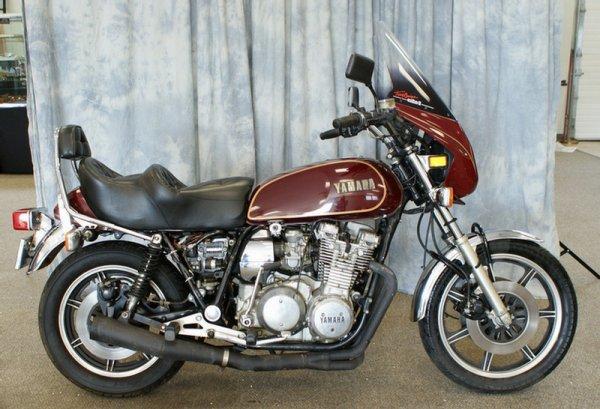 106:  1978 Yamaha, XS-1100E, Red