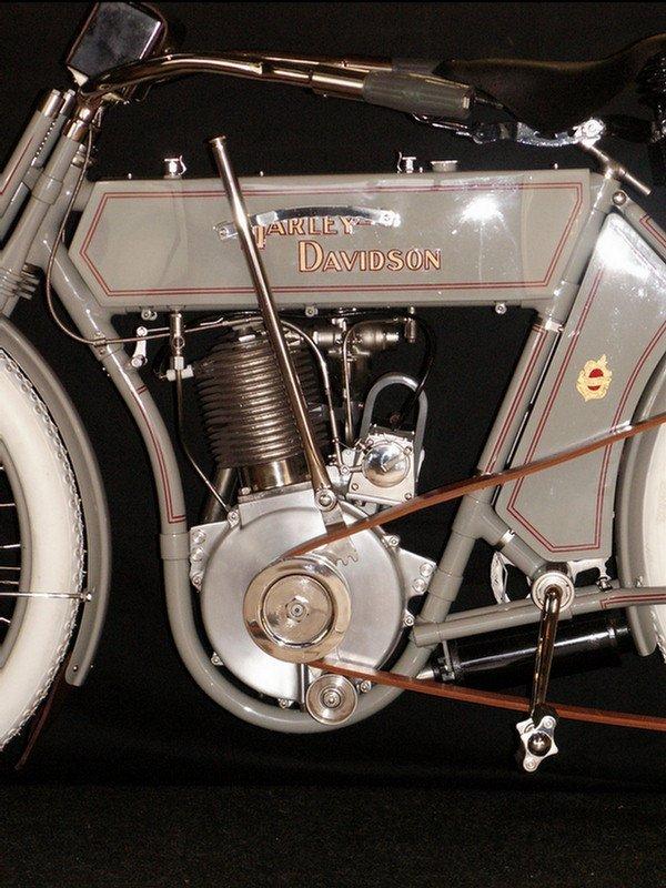 123: 1910 Harley-Davidson Model 6A - single cylinder  3 - 3
