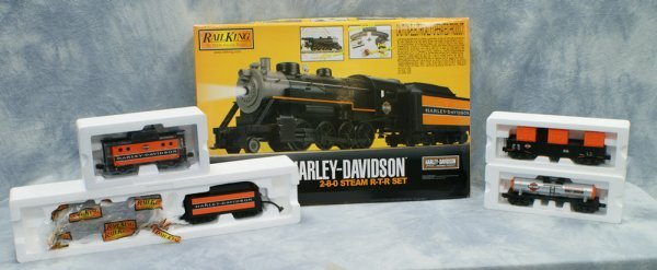 1: 4 pc set, Rail King by MTH Electric Trains, Ready to
