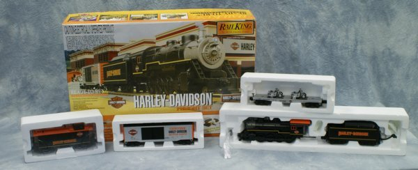 4: 4 pc set,  Rail King by MTH Electric Trains,  Ready