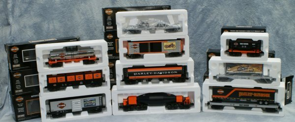 7: Lot of 10 cars, Rail King by MTH Electric Trains, (1