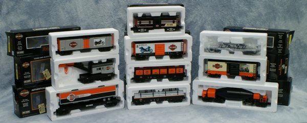 8: Lot of 10 cars, Rail King by MTH Electric Trains, (1