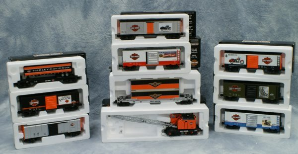 10: Lot of 10 cars, Rail King by MTH Electric Trains, (
